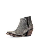 Women's Ariat Boot, Dixon, Distressed Black