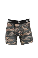 "Men's Cinch Boxers, 6"" Camo"