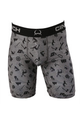 Men's Cinch Boxers, Camp, 9""