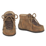 Toddler Twister Shoes, Jed, Tooled Brown