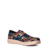 Men's Ariat Shoes, Hilo, Blue and Orange Aztec