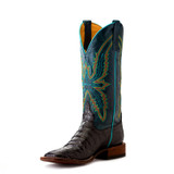 Women's Macie Bean Boots, Bite in Shining Armor, Black Caiman, Navy Shaft