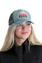 Women's Cinch Cap, Denim with Rodeo Patch