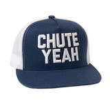 Dale Brisby Cap, Chute Yeah, Navy with White Mesh