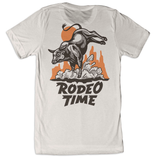 Men's Dale Brisby Tee, Rodeo Time Rope, Bucking Bull