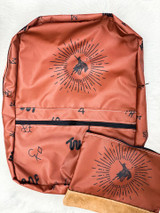 The Whole Herd Backpack, Starburst Bronc