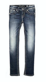 Girls Miss Me Jeans, Multi Color Pink