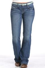 """Women's Cruel Girl Jeans, """"Jayley"""", Medium Wash"""