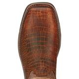Men's Ariat Boot, Steel Toe, with Chocolate Gator