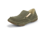 Men's Tony Lama Slip On, Olive Canvas