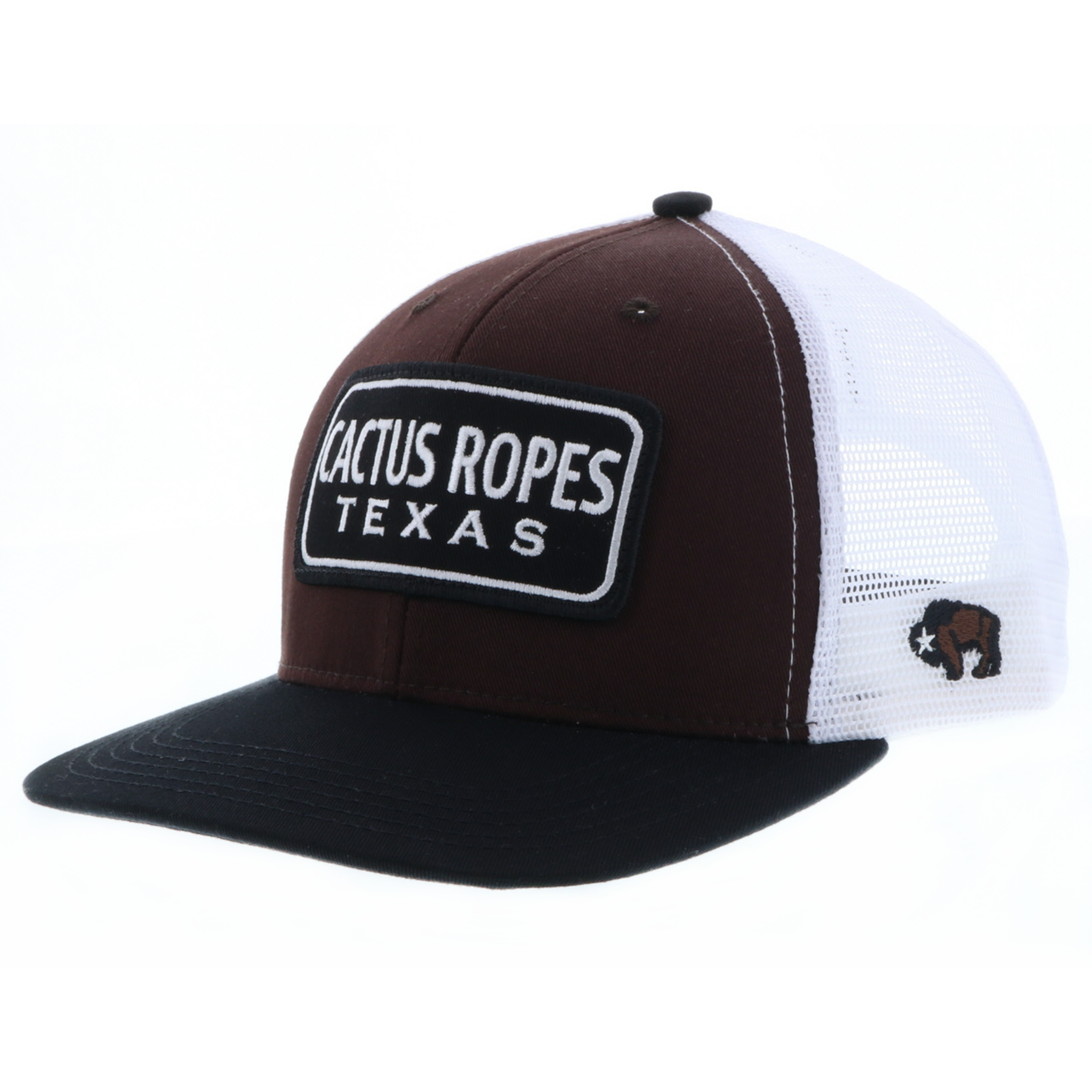 quality design 45da7 e2ead Men s Hooey Cap, Cactus Ropes, Brown and White Trucker - Chick Elms Grand  Entry Western Store and Rodeo Shop