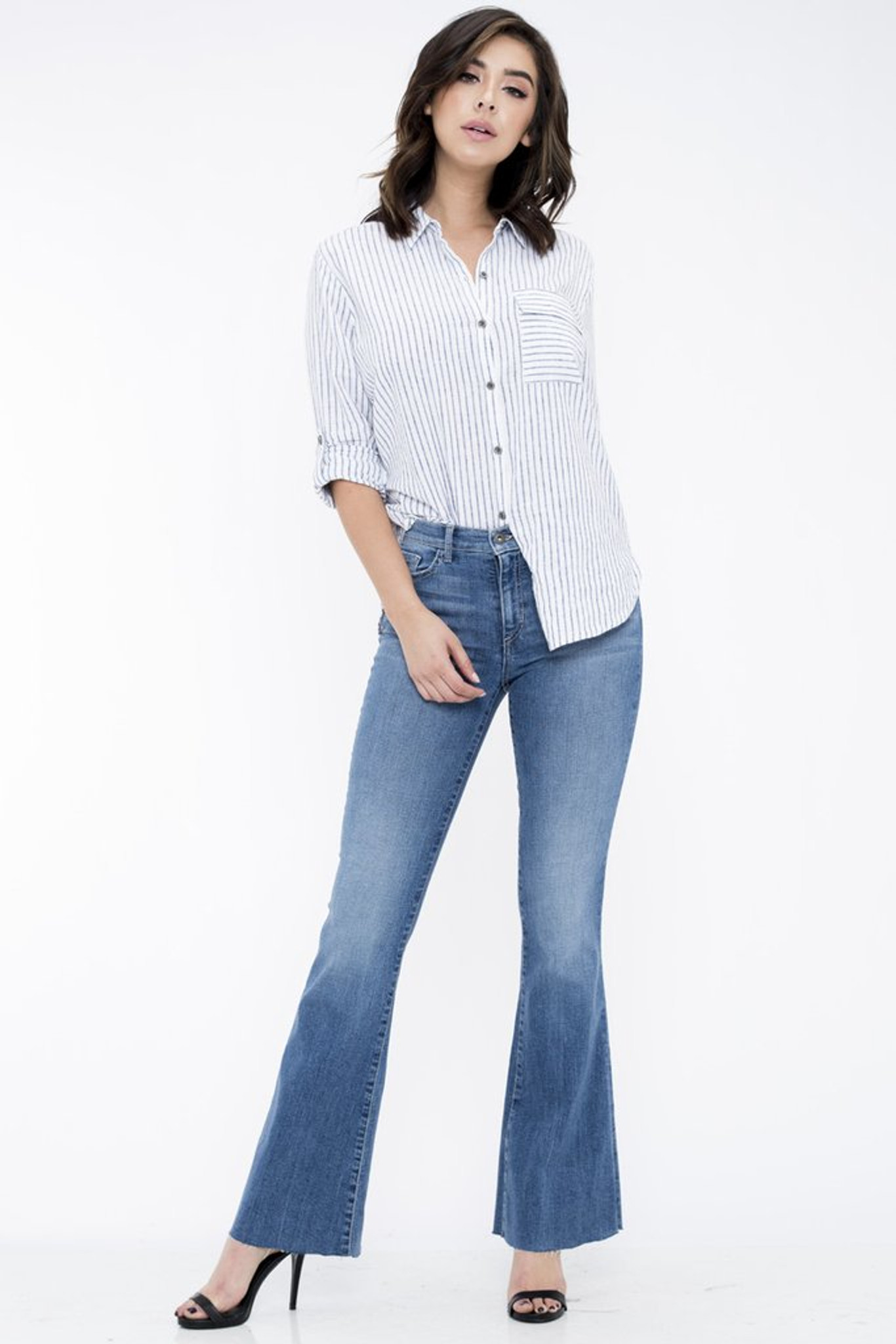 b8c7e4a75f6 Women's Sneak Peek Jeans, Medium Rise, Flare - Chick Elms Grand Entry  Western Store and Rodeo Shop