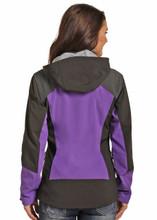 Women's Powder River Jacket, Black and Purple, Bonded