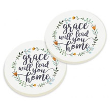 PGD Car Coaster Set, Grace will Lead you