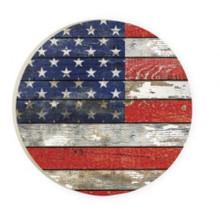 PGD Car Coaster Singles, American Flag