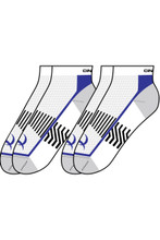 Men's Cinch Sock, Athletic, White