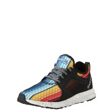 Women's Ariat Tennis Shoe, Fuse Rainbow Serape Mesh