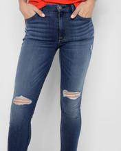 Women's 7FAMK Jean, Ankle Skinny, Distressed