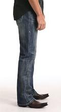 Men's Rock & Roll Jeans, Double Barrel Bootcut, Dark Wash