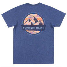 Men's Southern Marsh Tee, Summit, Navy