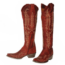 Women's Old Gringo Boots, Mayra Bis, Red
