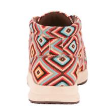 Women's Ariat Shoe, Spitfire, Red, Blue and Orange Aztec