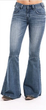 Women's Rock & Roll Jeans, Mid Rise, Ultra Flare