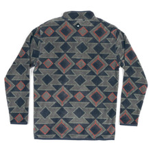 Men's Southern Marsh Pullover, Navy and Taupe, Southwesterm