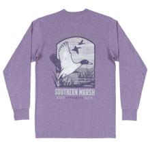 Men's Southern Marsh L/S, Mallard, Iris