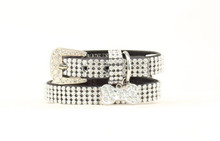 "Blazin Roxx Dog Collar, 3/4"" Super Bling"