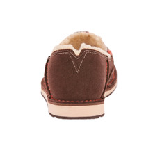Women's Ariat Cruiser, Brown with Gray and Red Serape, Fleece Lined