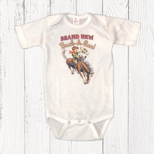 Infant Liberty Linens Onesie, Brand New Buck-A-Roo
