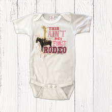 Infant Liberty Linens Onesie, Ain't My First Rodeo