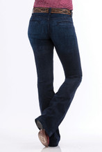 Women's Cinch Jeans, Lynden, Dark Wash Trouser