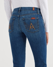 Women's 7FAMK Jean, A Pocket, Medium Dark Wash