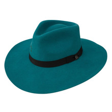 Charlie 1 Horse Felt Hat, Highway, Teal