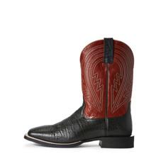 Men's Ariat Boot, Circuit Herd Boss, Red shaft with Black Vamp