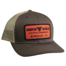 Dale Brisby Cap, Cattle Company, Brown and Tan Mesh