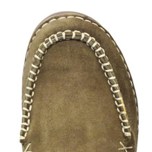 Women's Cinch Slip On, Olive Suede