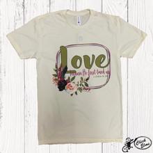 Women's Ranch Swag Tee, Love Verse, Natural