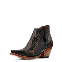 Women's Ariat Boot, Dixon, Brooklyn Black