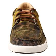 Women's Twisted X Shoe, Iridescent Brown Leopard Sneaker