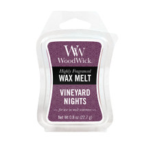 Wood Wick Wax Melt, Vineyard Night