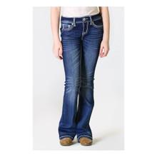 Girls Grace in LA Jeans, Cross Flap Pocket