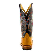 Men's Anderson Bean Boot, Brown Bottom, Navy Top w/ Indian Head