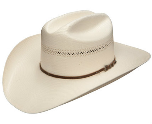 Resistol, Straw Hat w/ Leather Band