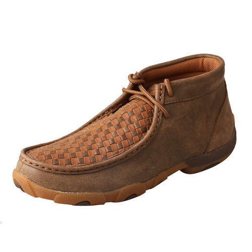 Women's Twisted X Driving Moccasin, Quilted Leather