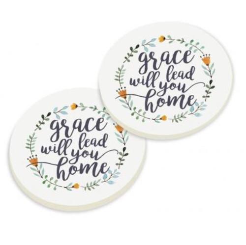 PGD Car Coaster Set, Grace will Lead you