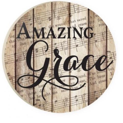 PGD Car Coaster Singles, Amazing Grace