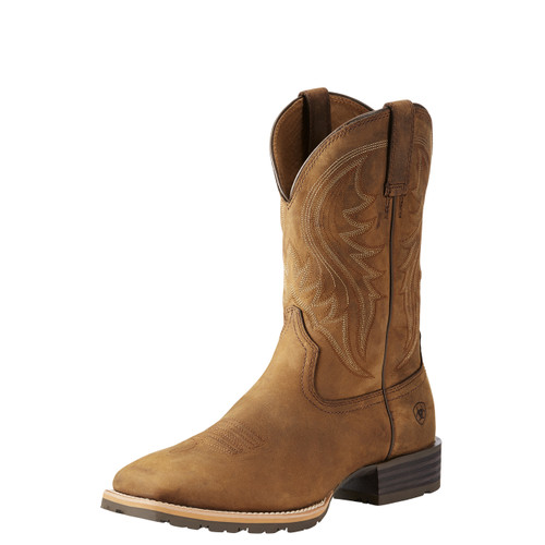 Men's Ariat Boot, Rancher, Distressed Brown, Square Toe